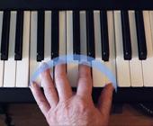 Position des doigts pour jouer du piano